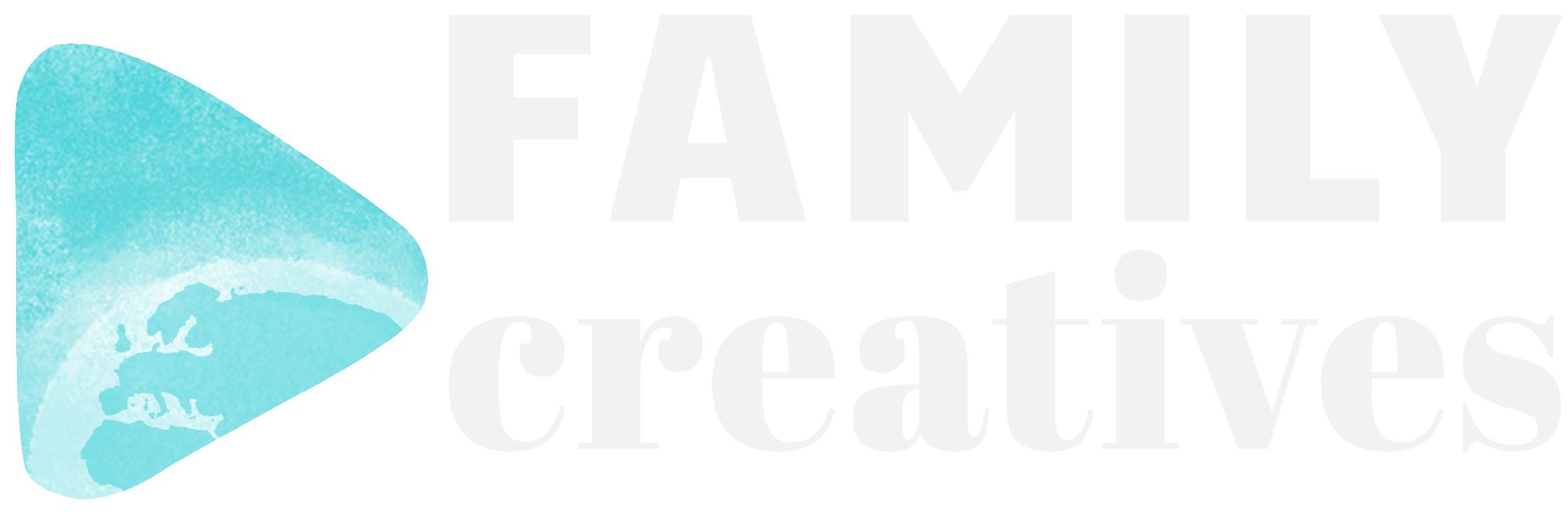 Family Creatives - Logo - Tekstit nuolen vieressä